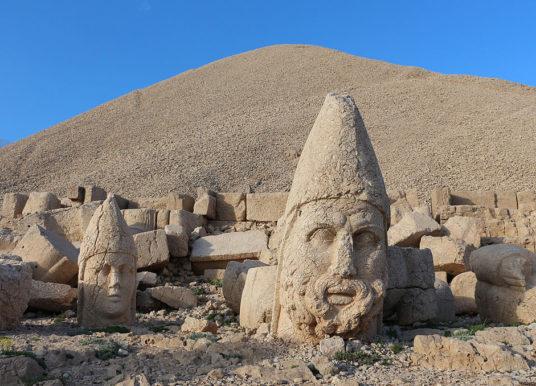 Nemrut Dağı (Turchia): il misterioso santuario di Antioco.